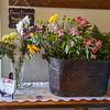 F. Brian Ferguson/Register-Herald Fresh cut flowers at The Station.