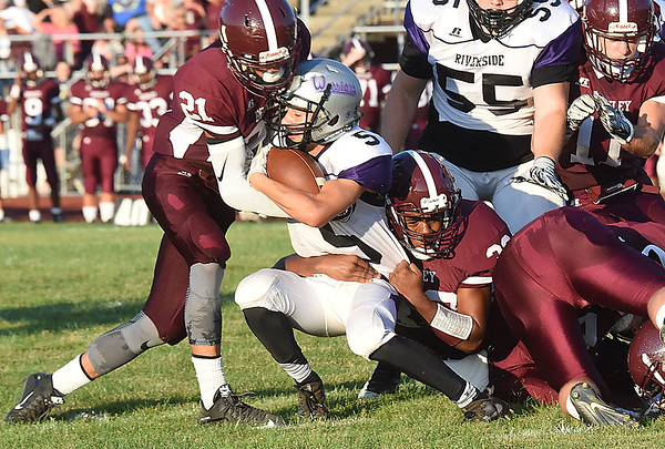 Woodrow Wilson vs Riverside High School at Van Meter Stadium in Beckley Friday night. (Rick Barbero/The Register-Herald)