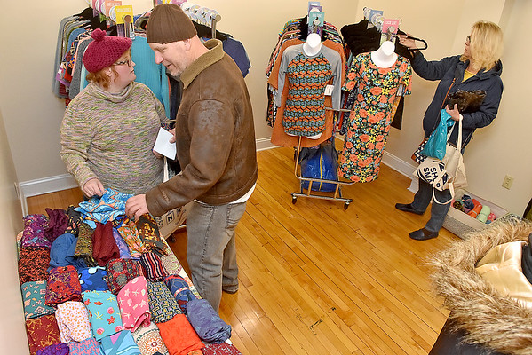 (Brad Davis/The Register-Herald) Small Business Saturday yesterday in Uptown Beckley.