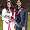 Homecoming Queen, Aaliyah Williams, and Homecoming King, Hamza Jafarg during the Woodrow Wilson halftime festivities. Chad Foreman for the Register-Herald.