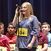(Brad Davis/The Register-Herald) Raleigh County's Kelly Mills takes a turn during the 2017 Gazette-Mail Regional Spelling Bee Saturday afternoon at Capital High School in Charleston.