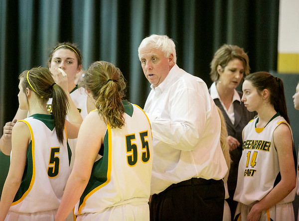 Chris Jackson/The Register-Herald Greenbrier East hosts Capitol during their girls high school regional co-final on Tuesday, March 3, 2015.
