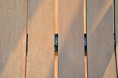 Upper Deck Original Boards Shrank - Note uneven gaps - Never use biscuits!
