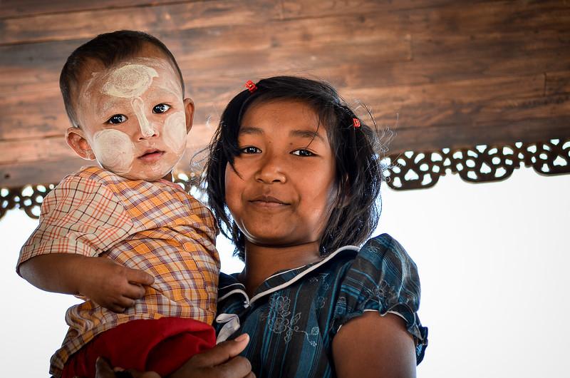 Siblings || Burma (Myanmar)