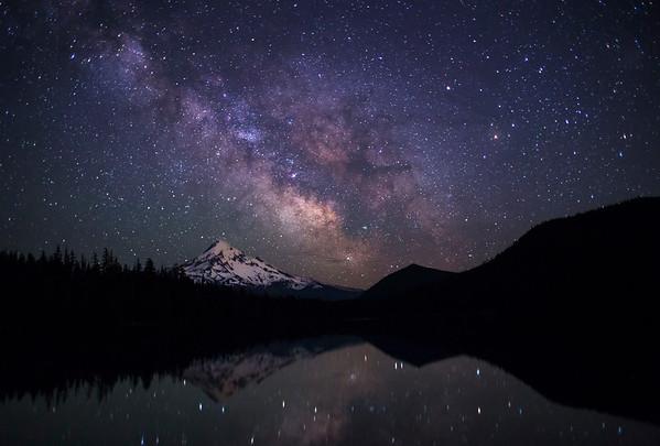 Lost Lake Milky Way
