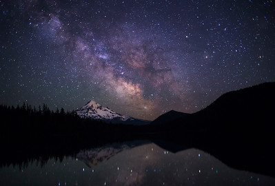 Lost Lake Milky Way