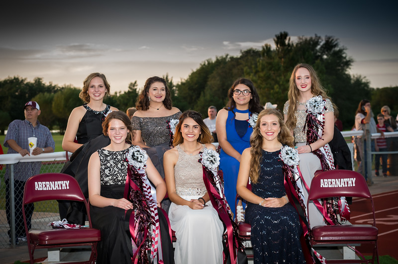 Homecoming Court & Queen, 2017
