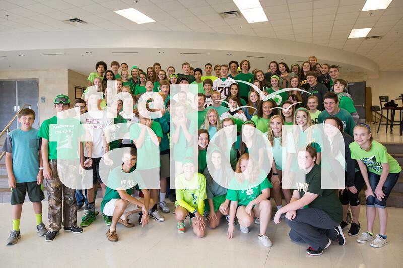 Color War Day at Argyle High School on 10/21/15 in Argyle, Texas. (Photo by Caleb Miles / The Talon News)