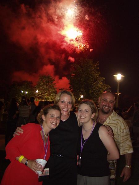 Lyceum girls & Fireworks