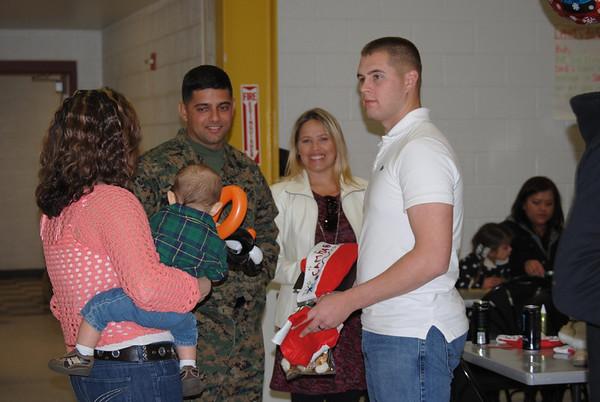USMC 1/11 bn Christmas Party - 12/21/2012