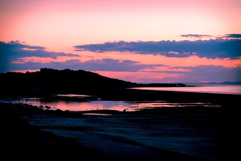 Sunset at Antelope Island