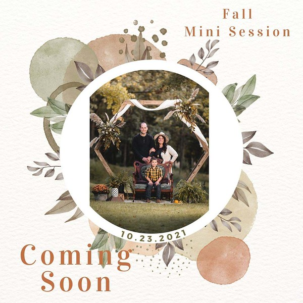 Fall New Product Marketing Instagram Post