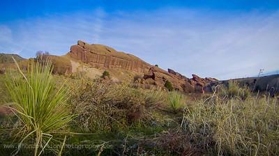 Colorado Rocks- Sunrise at Red Rocks, Morrison, CO