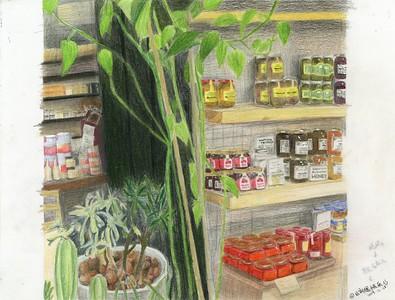 """At Borough Market"" by Holly Liu '22 - Silver Key"
