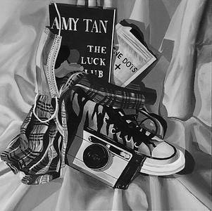 """High School"" by Beatrix Stork '21 - Silver Key"