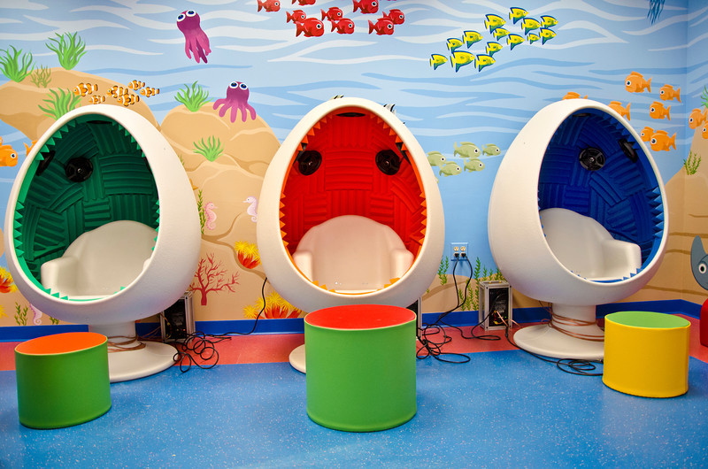 Soundpod in Children's Library at Mokena Public Library