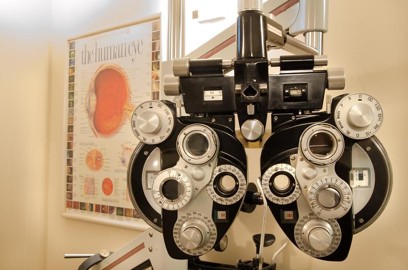 Phoropter at Carillon Vision Care