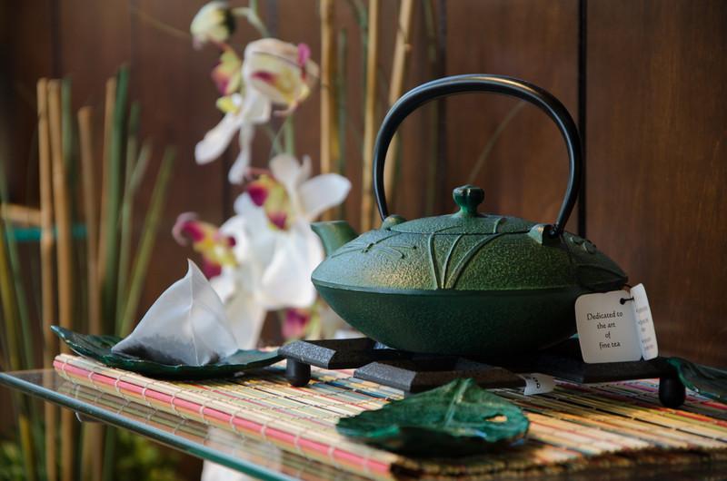 Iron Teapot at Adagio Teas. Chicago, IL