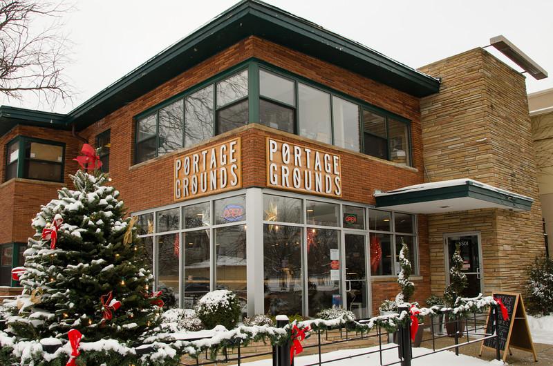 Portage Grounds Coffee Shop<br /> Portage Park neighborhood Chicago, IL