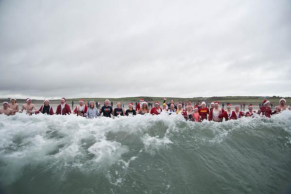 Hope Foundation Santa Splash Garretstown Beach County Cork 2nd December 2012