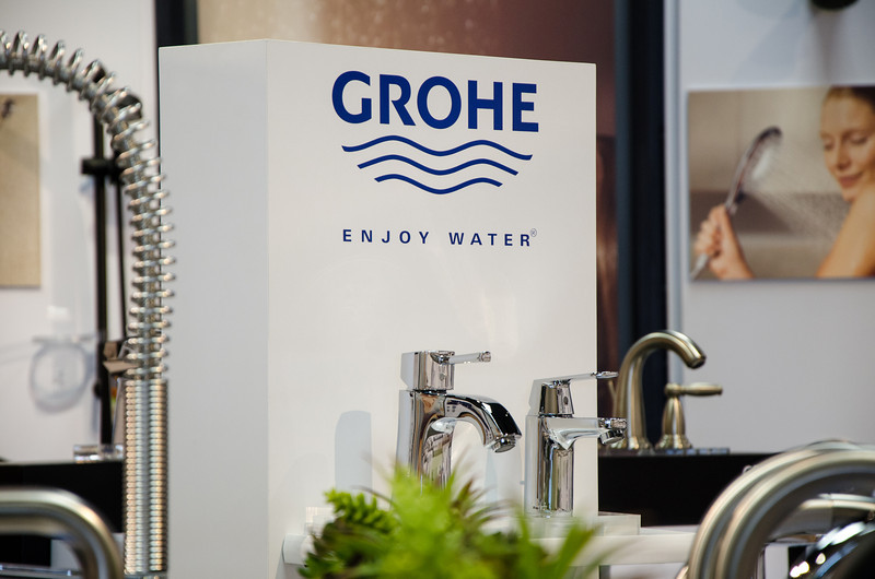 Grohe display in Studio 41 showroom