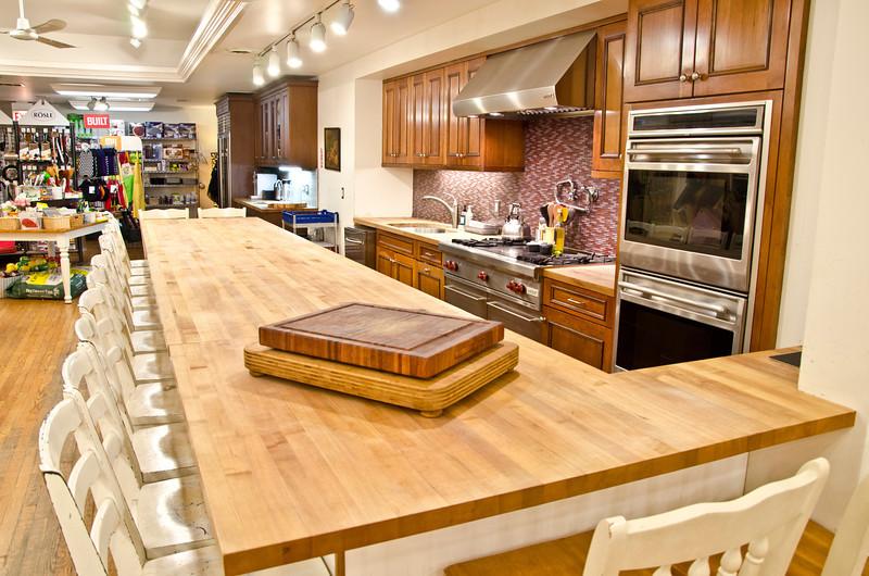 Chopping Block demonstration kitchen<br /> Chicago, IL