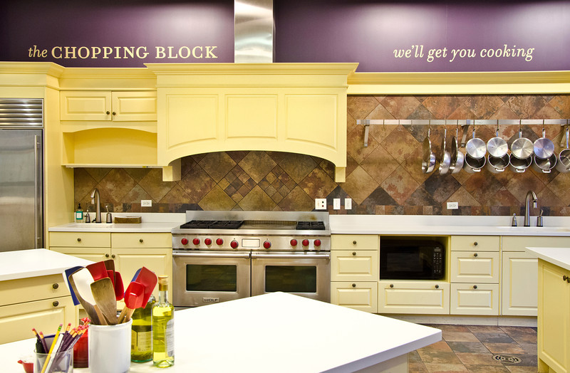 Chopping Block demonstration kitchen
