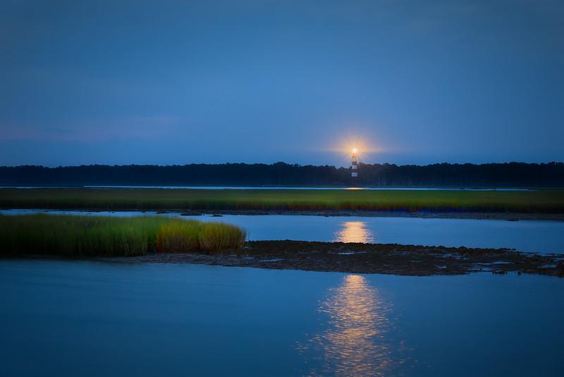 Assateague-Lighthouse-Dawn-Glow-FR