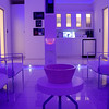 Morpheus Room - this room's lights change colors. Lightology showroom. Chicago, IL