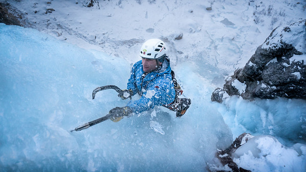 Ice Climbing // South Tirol