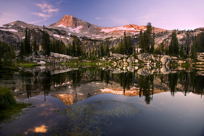 Sunshine Lake Eagle Cap Wilderness