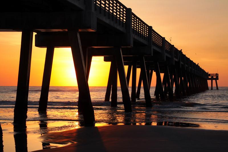 Jacksonville Beach Pier, Jacksonville, FL