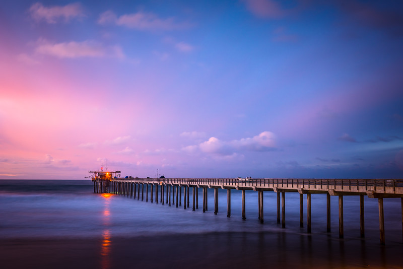 Scripps Pier after Sunset