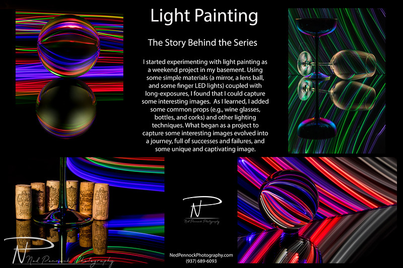 Light Painting Behind the Series
