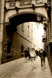 Carrer del Bisbe, Barrio Gotico, Barcelona