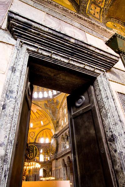 Aya Sofya Doorway