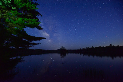 Milky Way Over Toddy Pond 1
