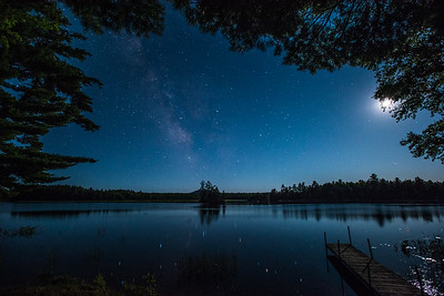 Milky Way Over Toddy Pond 2