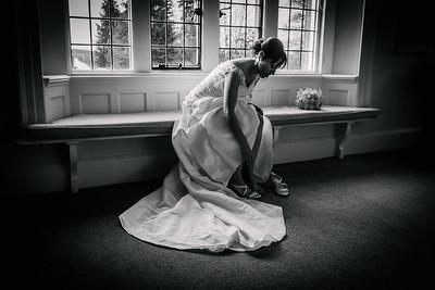 Bridal Preparations at Shepherd's Dene, Hexham