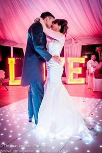 Lumley Castle Wedding Photograph