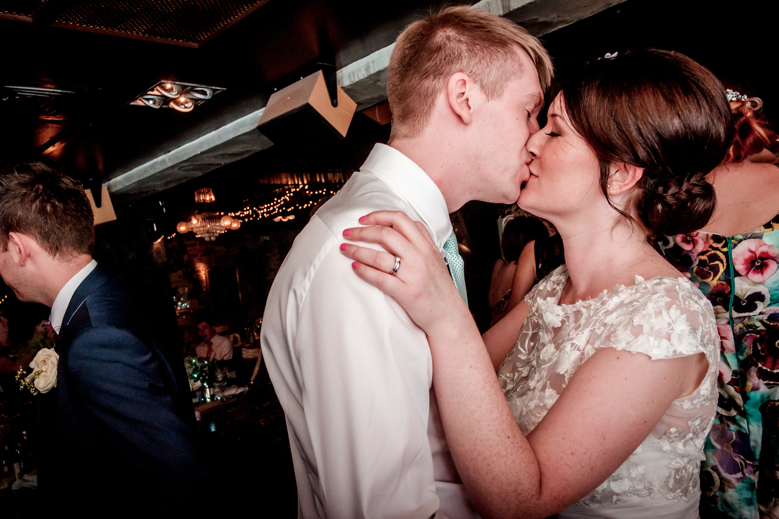 A Kiss On The Dancefloor at As You Like It, Jesmond.