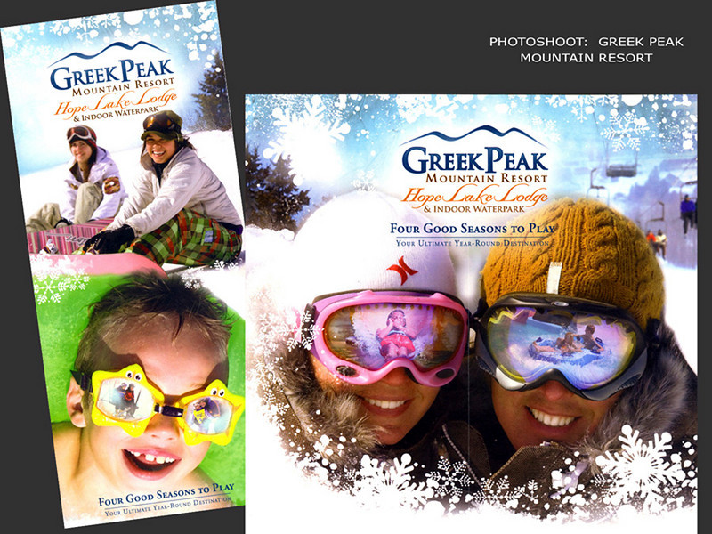 Greek Peak Mountain Resort, Brochure Covers