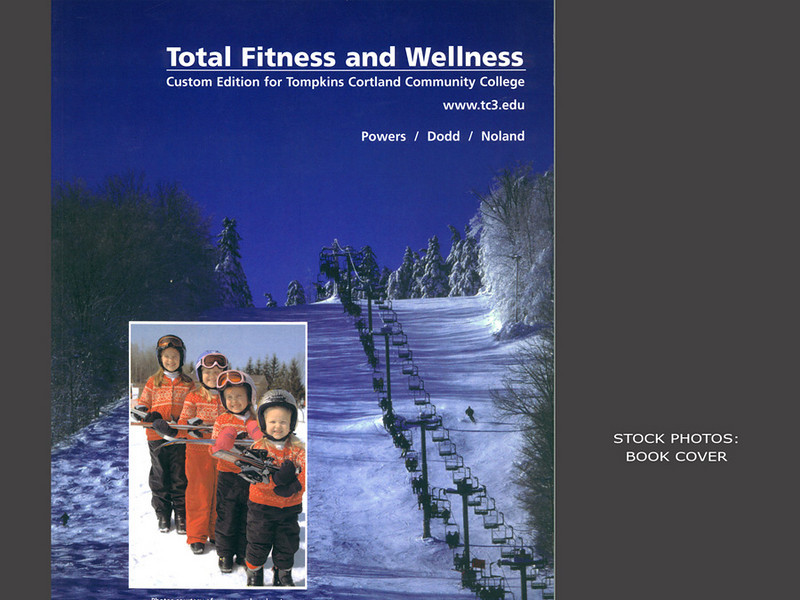 Total Fitness and Wellness, Book Cover