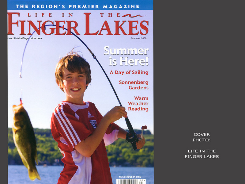 Life in the Finger Lakes Magazine, Cover