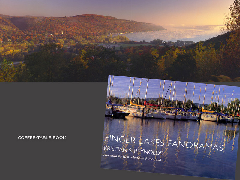 Finger Lakes Panoramas, Book