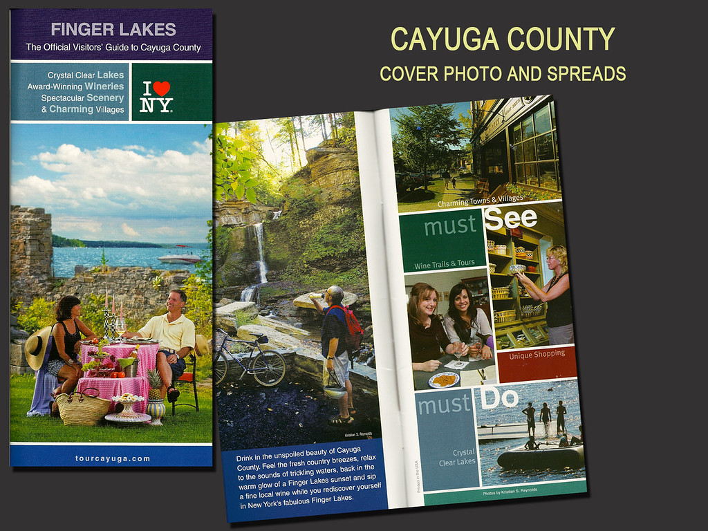 Cayuga County Travel Guide, Cover