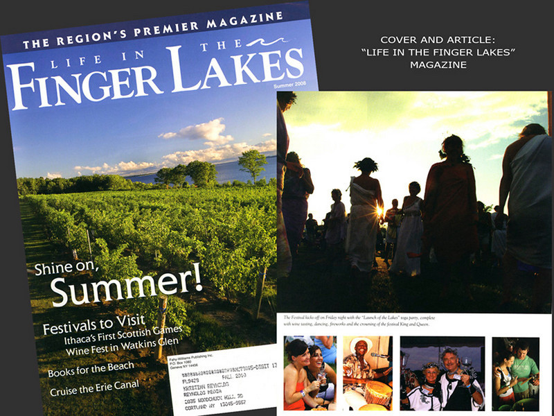 Life in the Finger Lakes, Magazine Cover