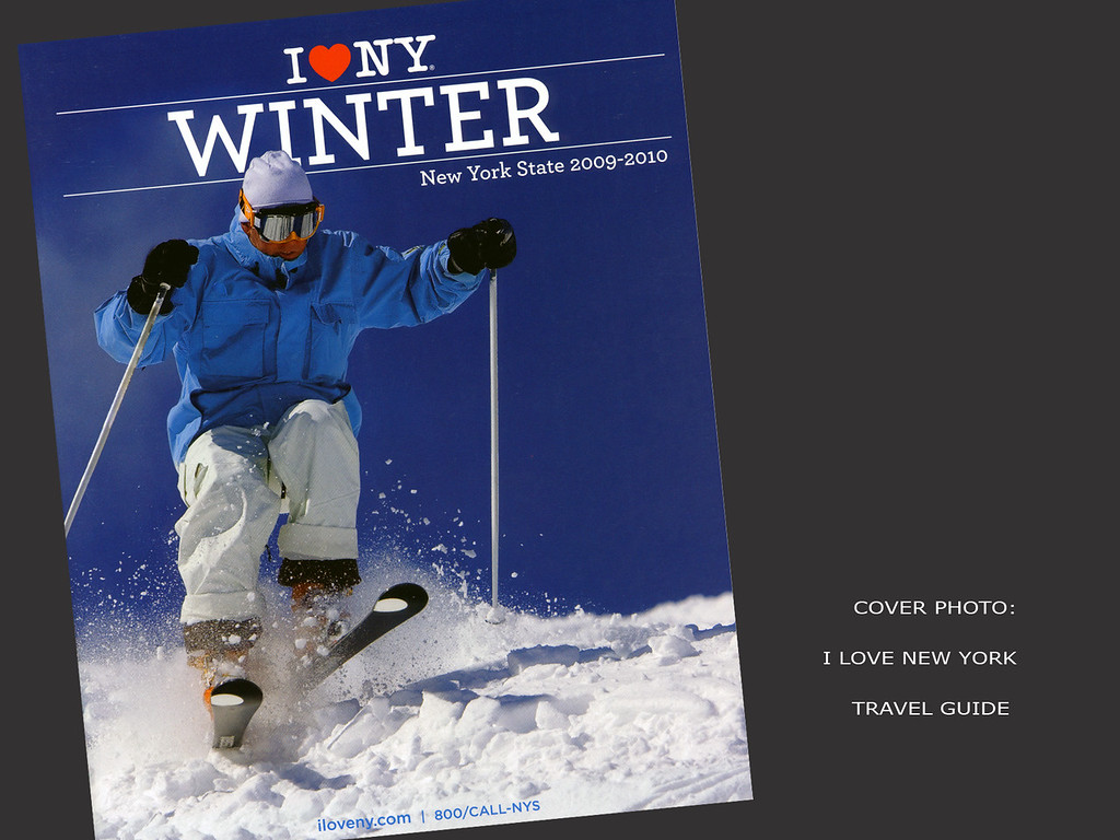 I Love New York, Winter Travel Guide, Cover