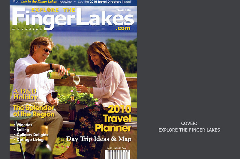 Explore the Finger Lakes, Magazine, Cover