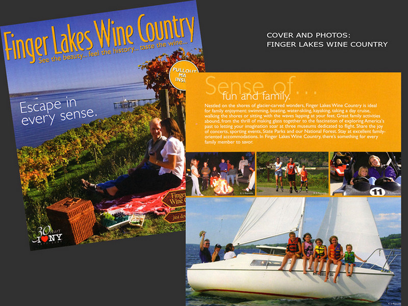 Finger Lakes Wine Country, Cover